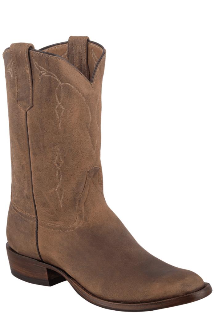 Pinto Ranch Rios of Mercedes Sand Elk Bottom Boots