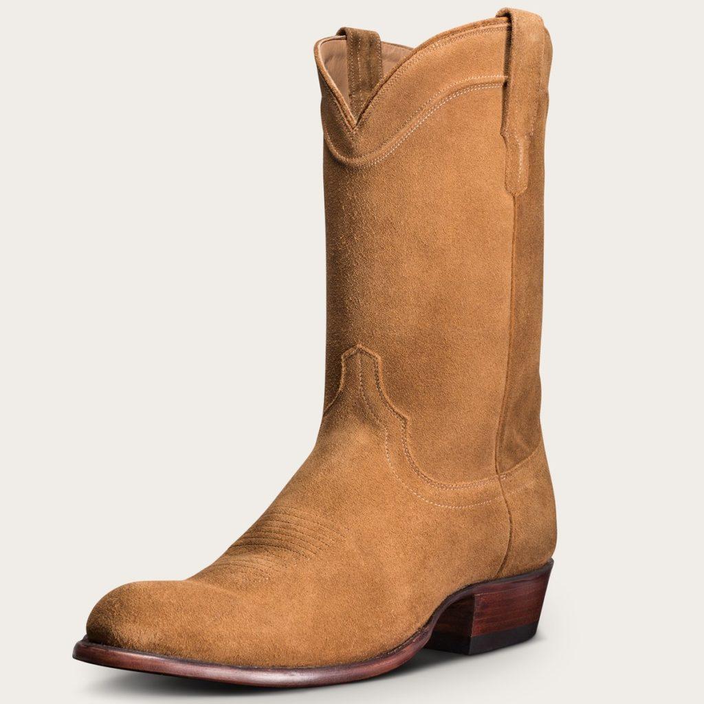 Tecovas Men's Suede Cowboy Boots